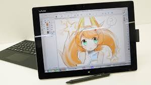 when painting with the vaio monster tablet pc vaio z canvas that makes creators say yeah