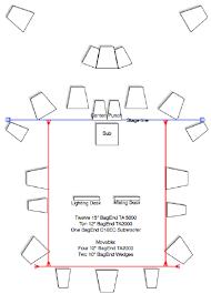 speaker configuration lsu recital hall scientific diagram