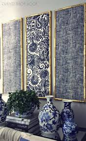 15 best collection of fabric panel wall art with