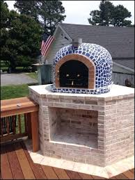 outdoor fireplace pizza oven designs plans