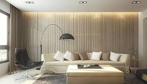 Contemporary Living Room Wallpaper