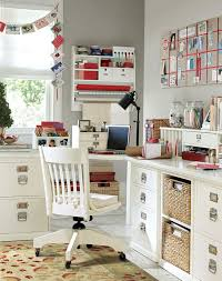 home office craft room ideas. beautiful home office and craft room with builtin corner lshaped desk ideas s