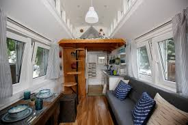 Small Picture Inside a Handsome Tiny House With Solar Shingles Curbed