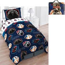 Star Wars Bed in a Bag 5 Piece Twin Bedding Set with BONUS Tote ...