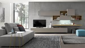 San michele soggiorno sole laccato opaco porta tv design