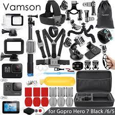 Vamson для Gopro, набор <b>аксессуаров</b> для <b>Gopro hero</b> 7 6 5 ...