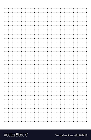 Dot Grid Paper Graph Paper 1 Cm On A4 Royalty Free Vector