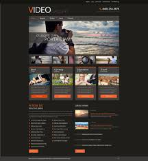 website template video website template 51044 video box content custom website template