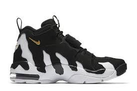 Whatever you're shopping for, we've got it. Deion Sanders Nike Air Dt Max 96 Back For 2018 In Black White Gold Eu Kicks Sneaker Magazine Sneakers Nike Sneaker Magazine