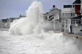 Noreaster Hits Green Harbor Ma This Shot Is Of A Storm W