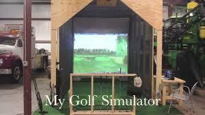 my golf simulator powered by optishot