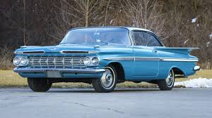 1959 Chevrolet Crown Sapphire Color Wiring Diagrams