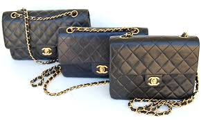 Designer Handbag Care and Maintenance | Lollipuff & Chanel quilted classic vintage flap bags Adamdwight.com