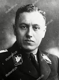 Albert Forster Nazi leader Danzig Poland July Editorial Stock Photo - Stock  Image   Shutterstock
