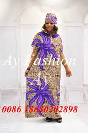 African Women Batik Print Kaftans Big Size Long Dress Ghana Dress