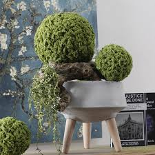 Moss Balls Wedding Decor Awesome Artificial Milan Glass Moss Balls Green Plants Grass Simulation