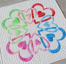 1550 best Sewing and Quilting Patterns and Tutorials images on ... & Easy Applique Heart Quilt #heartquiltpattern Adamdwight.com
