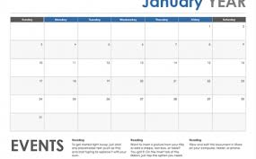 Calendarsthatwork Com Monthly Horizontal Event Monthly Calendar Template Exceltemplate