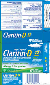 Claritin D 12 Hour Tablet Extended Release Bayer