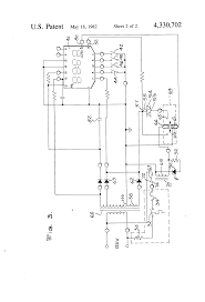 patent us4330702 electronic control system for coffeemaker patent drawing