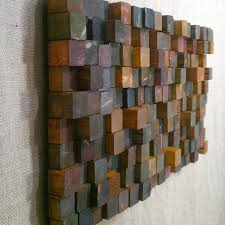 clever design wood wall art diy block recous large reclaimed decor designs mountain
