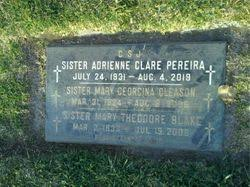 Sr Mary Georgina Gleason (1924-2006) - Find A Grave Memorial