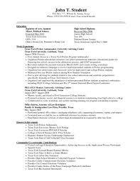 How To List Education On Resume Resume How To List Education On Getessaybiz Example High School 15