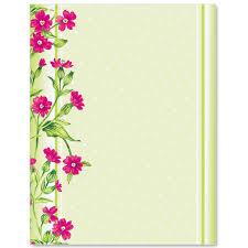 Flower Border Designs For Paper Flower Border Paper Under Fontanacountryinn Com