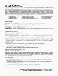 Desktop Support Resume Examples New Resume Cover Letter Data Analyst Resume Sample Awesome Technical