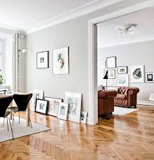Would prefer normal wood floors but luv luv luv the grey walls n white  skirting.