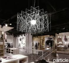 Image Celeste The Pieces That Are Glued Together To Look Like Hanging Curtain Of Lights Are Round And The Fact That They Come In Black And White Only Enhance The Architonic Lighting From Yellow Goat Design