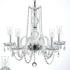 outdoor crystal chandelier crystal chandelier w candle for indoor diy outdoor crystal chandelier