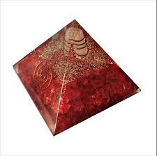 Red Jasper Charms Of Light Amazon Com Purpledip Red Jasper Orgone Pyramid With Crystal