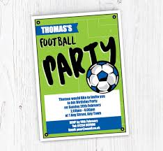 Soccer Party Invite Soccer Party Invitations
