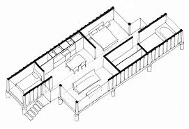 containers of hope, a low cost home by benjamin garcia saxe New Home Floor Plans With Cost To Build containers of hope, a low cost home constructed from two 40' containers home floor plans with cost to build