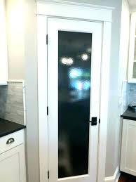 24 x 80 pantry door glass