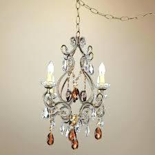 plug in chandelier lighting plug in chandelier amber gold finish swag plug in chandelier plug plug in chandelier
