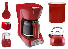 Small Red Kitchen Appliances Red Kitchen Appliances Set All About Kitchen Photo Ideas