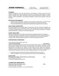 Good Objective For Resume Enchanting Sample Of Good Objectives In Resume Radiovkmtk