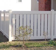 vinyl semi privacy fence.  Vinyl The American Fence Company Vinyl Fencing Semi Private Afc Kc Throughout Privacy