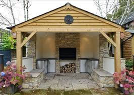 22 best outdoor kitchens images on outdoor kitchen shed
