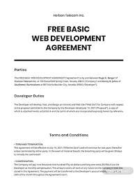 Set forth this {date} day of {month}, {year}, this agreement (agreement) is entered into between {client name}, known for the purpose of this agreement as client, and {designer name}, hereafter known as designer. Free Development Agreement Templates Word Doc Google Docs Apple Pages Template Net