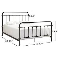 wrought iron bed frame full. Simple Bed Tribecca Home Giselle Antique Dark Bronze Graceful Lines Victorian Iron  Metal Bed Queen Size To Wrought Frame Full L