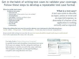 Simple Testing Tools For Complex Software Projects Test Case ...