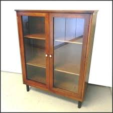 glass door bookcase bookcase 1 martin furniture glass door bookcase costco