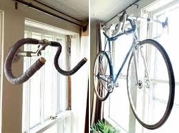 simple wooden bike stand minimalist racks co 5 handlebar