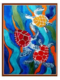 sea turtle paintings canvas beautiful paintings of turtles google search