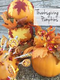 diy thanksgiving pumpkin decor topiary and centerpieces