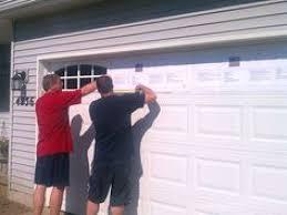 Faux Garage Door Windows Door Diva Faux Wood Grain Garage Door Painting Wrought Iron