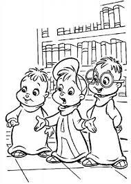 Kids N Fun 26 Kleurplaten Van Alvin En De Chipmunks